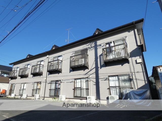 静岡県浜松市北区、常葉大学前駅徒歩39分の築25年 2階建の賃貸アパート