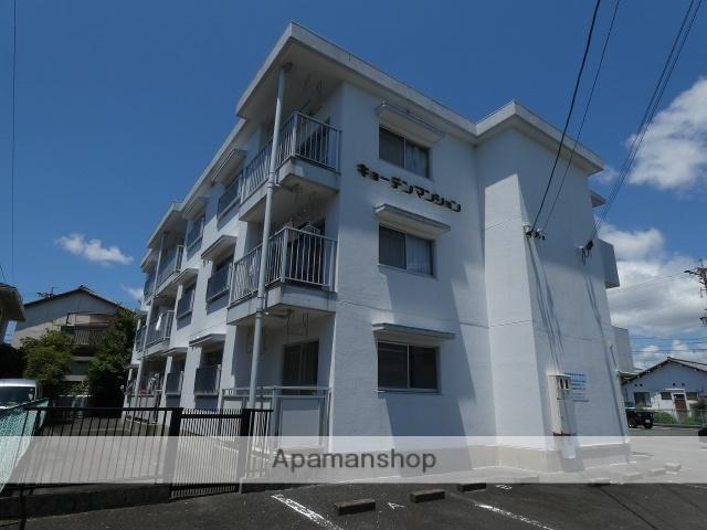 静岡県浜松市中区、浜松駅バス18分京田下車後徒歩8分の築27年 3階建の賃貸マンション