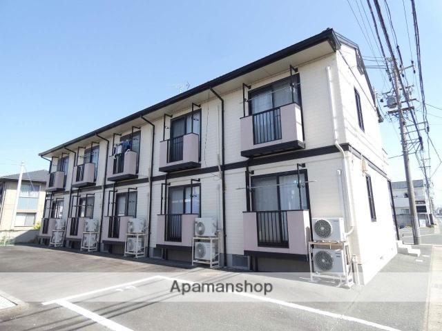 静岡県浜松市東区、浜松駅遠鉄バスバス15分西塚町下車後徒歩5分の築20年 2階建の賃貸アパート