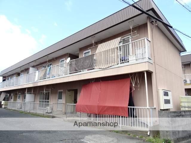静岡県浜松市東区、浜松駅遠鉄バスバス23分有玉南下車後徒歩8分の築31年 2階建の賃貸アパート