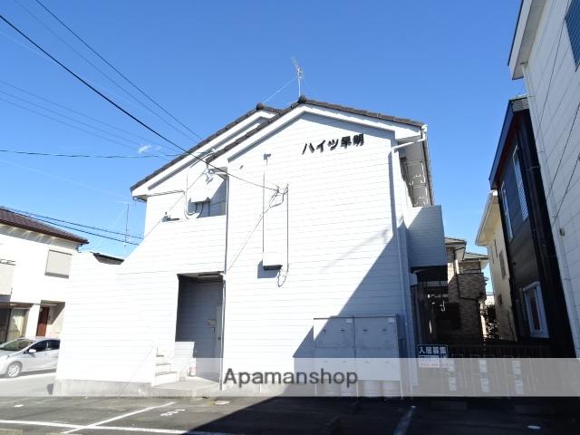 静岡県浜松市東区、天竜川駅徒歩20分の築26年 2階建の賃貸アパート