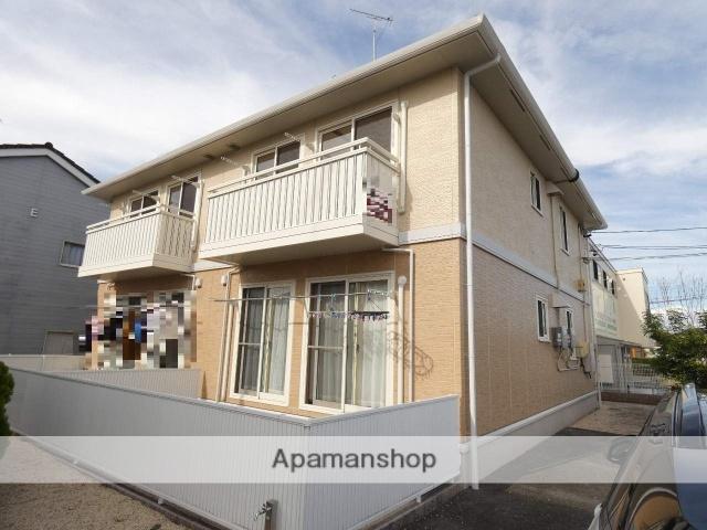 静岡県浜松市浜北区、遠州小林駅徒歩7分の築9年 2階建の賃貸アパート