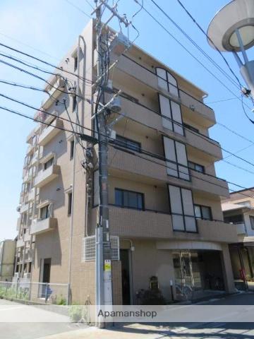 静岡県浜松市中区、第一通り駅徒歩13分の築25年 5階建の賃貸マンション
