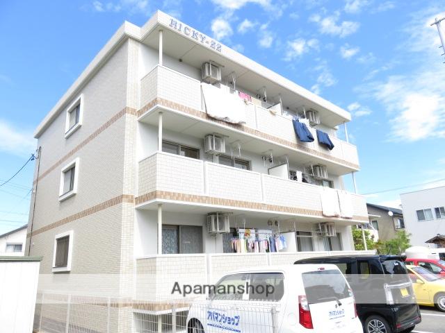 静岡県浜松市中区、浜松駅徒歩20分の築4年 3階建の賃貸マンション