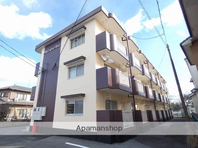 静岡県浜松市浜北区、遠州小松駅徒歩8分の築26年 3階建の賃貸マンション