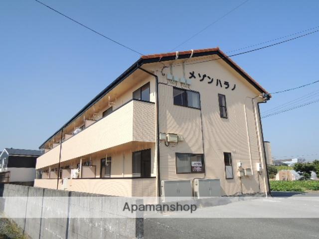 静岡県浜松市東区、遠州西ヶ崎駅徒歩6分の築19年 2階建の賃貸アパート
