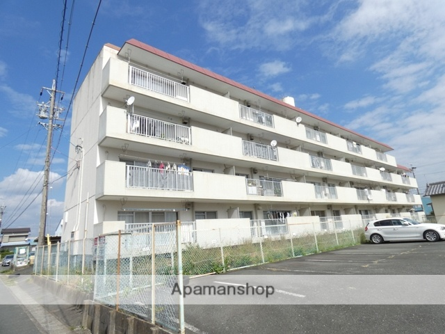 静岡県浜松市東区、天竜川駅徒歩9分の築34年 4階建の賃貸マンション