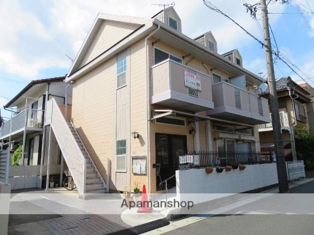 静岡県浜松市中区、浜松駅遠鉄バスバス20分和地山下車後徒歩3分の築26年 2階建の賃貸アパート