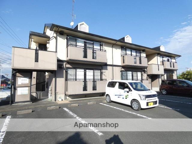 静岡県浜松市東区、浜松駅遠鉄バスバス34分与進北小下車後徒歩9分の築18年 2階建の賃貸アパート