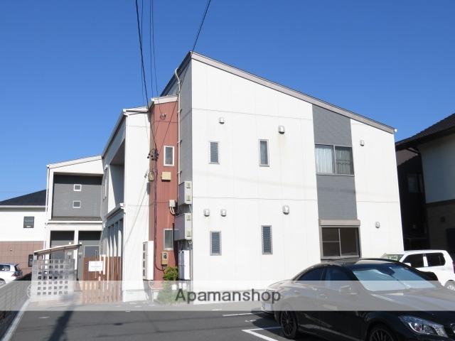 静岡県浜松市中区、浜松駅徒歩17分の築7年 2階建の賃貸アパート