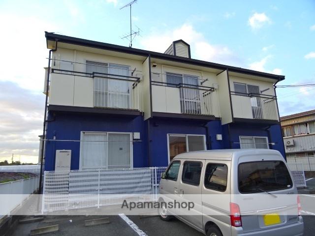 静岡県浜松市東区、浜松駅バス22分有玉南町下車後徒歩5分の築22年 2階建の賃貸アパート