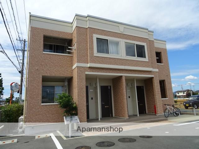 静岡県浜松市北区、浜松駅遠鉄バスバス50分一里山下車後徒歩2分の築3年 2階建の賃貸アパート