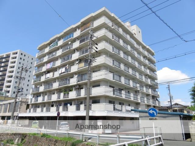 静岡県浜松市中区、浜松駅遠州鉄道バス1分遠州病院前下車後徒歩4分の築32年 8階建の賃貸マンション