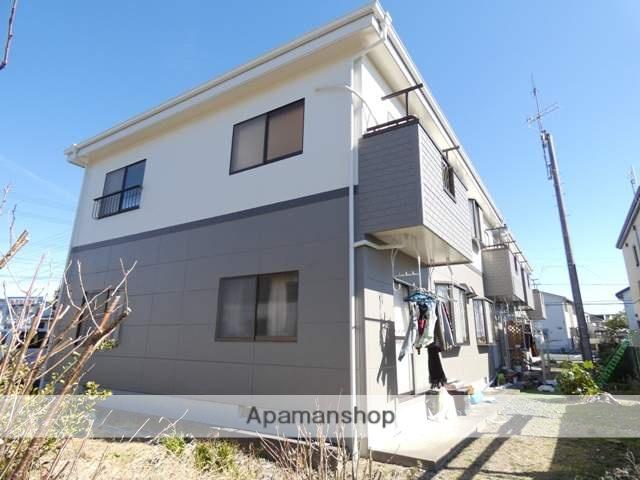 静岡県浜松市浜北区、浜北駅徒歩13分の築19年 2階建の賃貸アパート