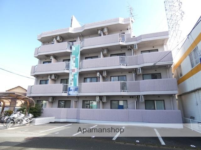静岡県浜松市東区、天竜川駅徒歩29分の築23年 4階建の賃貸マンション