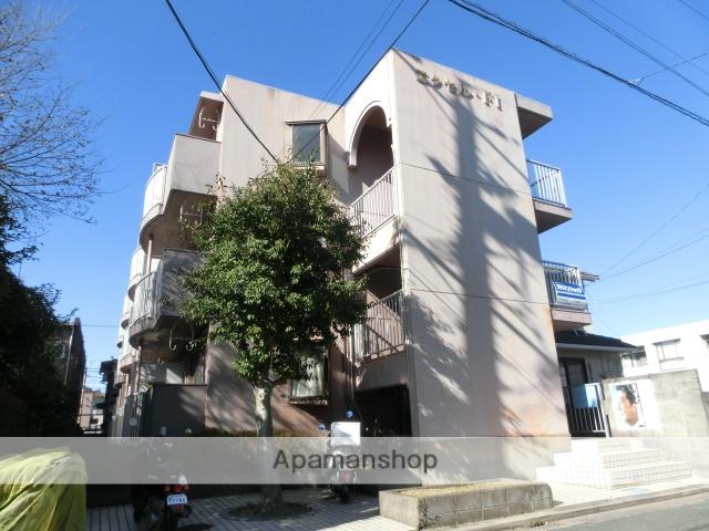 静岡県浜松市中区、八幡駅徒歩13分の築31年 3階建の賃貸マンション