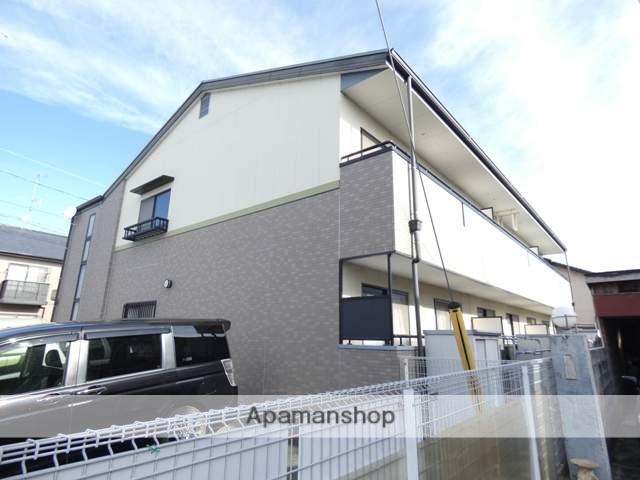 静岡県浜松市中区、浜松駅遠鉄バスバス19分早出町下車後徒歩7分の築15年 2階建の賃貸アパート