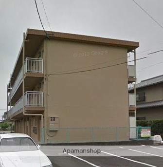 静岡県浜松市東区、浜松駅遠鉄バスバス40分保志下車後徒歩20分の築29年 3階建の賃貸マンション