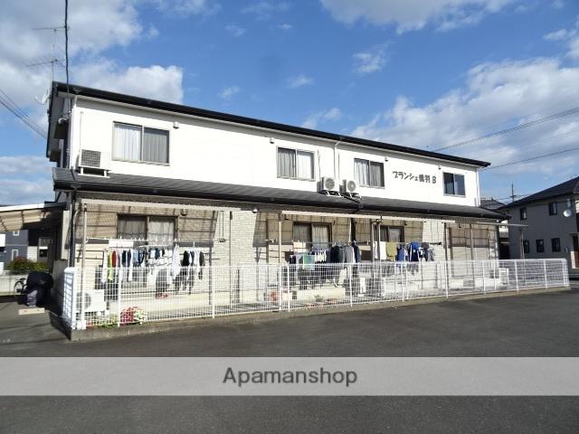 静岡県浜松市東区、天竜川駅徒歩15分の築9年 2階建の賃貸テラスハウス