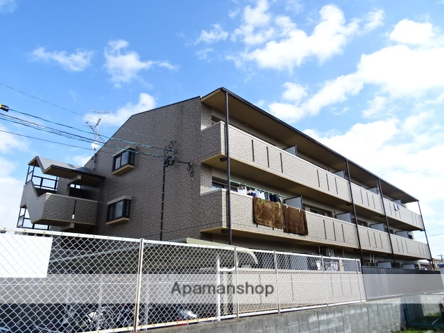 静岡県浜松市西区、浜松駅遠鉄バスバス26分入野西下車後徒歩3分の築21年 3階建の賃貸マンション