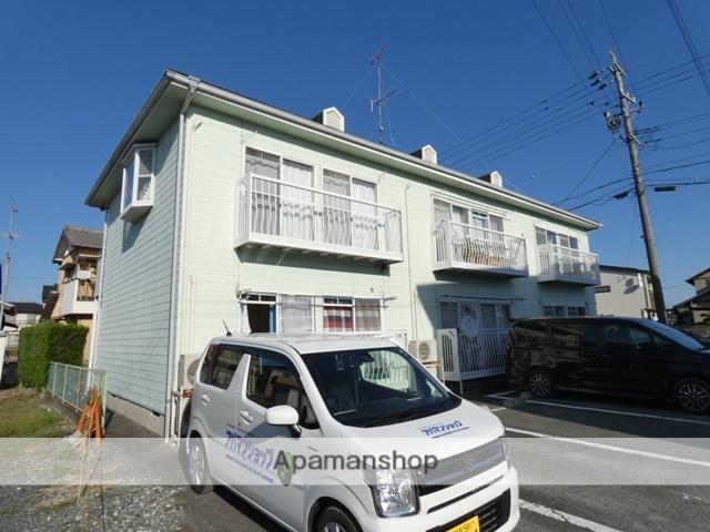 静岡県浜松市浜北区、浜北駅徒歩16分の築25年 2階建の賃貸アパート