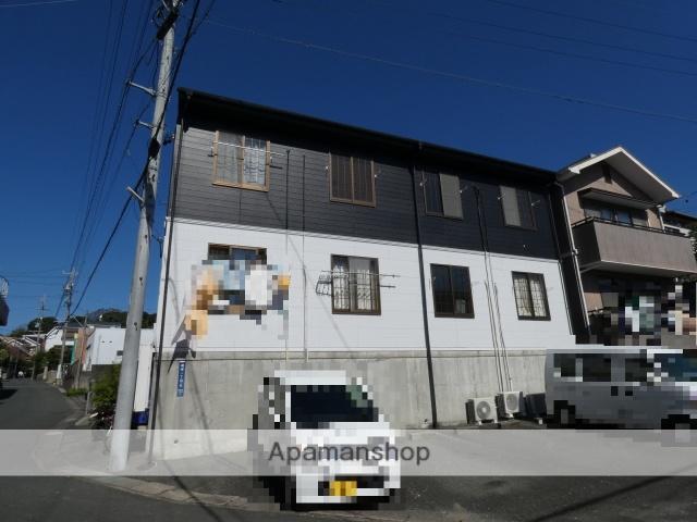 静岡県浜松市中区、浜松駅遠鉄バスバス12分坂下西下車後徒歩3分の築20年 2階建の賃貸アパート