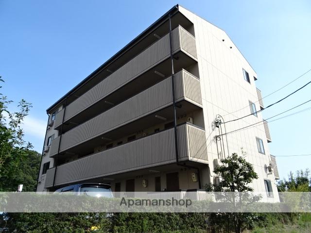 静岡県浜松市西区、浜松駅遠鉄バスバス30分臨江橋下車後徒歩2分の築20年 4階建の賃貸アパート