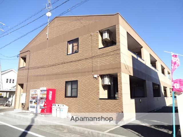 静岡県浜松市西区、浜松駅遠鉄バスバス40分馬郡下車後徒歩5分の築9年 2階建の賃貸アパート