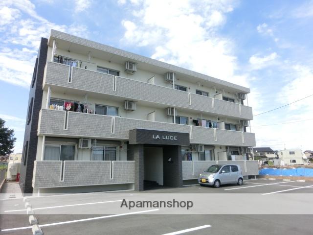静岡県浜松市浜北区、遠州小林駅徒歩20分の築2年 3階建の賃貸マンション