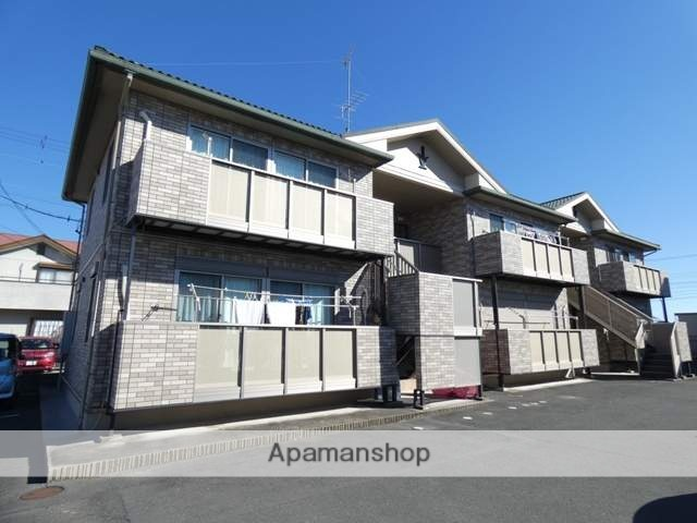 静岡県浜松市浜北区、浜北駅徒歩26分の築10年 2階建の賃貸アパート