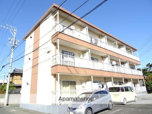 静岡県浜松市東区、天竜川駅徒歩13分の築29年 3階建の賃貸アパート