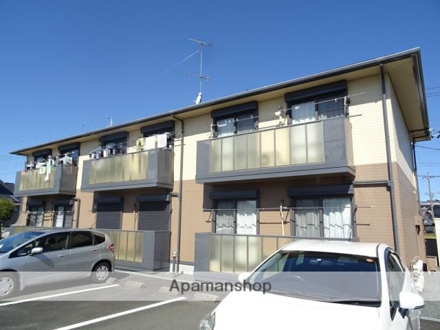 静岡県浜松市浜北区、浜北駅徒歩25分の築12年 2階建の賃貸アパート