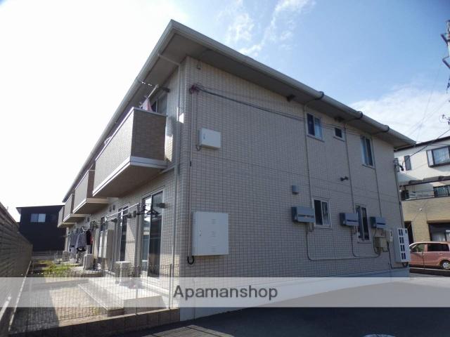 静岡県浜松市東区、浜松駅遠鉄バスバス28分有玉北下車後徒歩5分の築5年 2階建の賃貸アパート