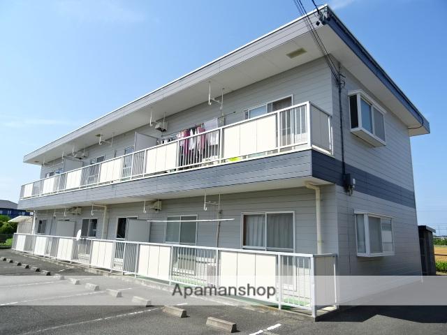 静岡県浜松市西区、浜松駅バス35分神田原下車後徒歩2分の築28年 2階建の賃貸アパート