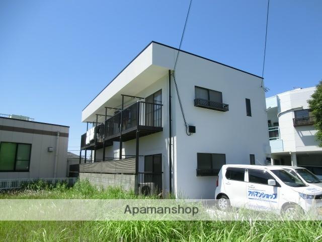 静岡県浜松市中区、浜松駅バス15分茄子橋下車後徒歩3分の築32年 2階建の賃貸アパート