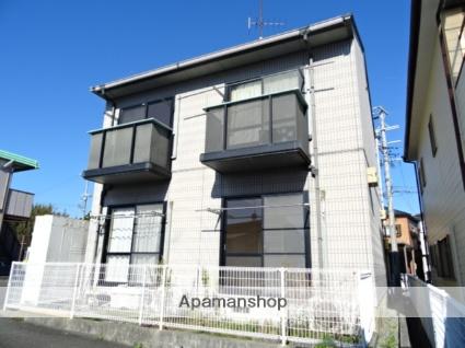 静岡県浜松市西区、浜松駅遠州鉄道バスバス40分西の宮下車後徒歩2分の築20年 2階建の賃貸アパート