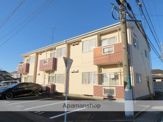 静岡県浜松市中区、浜松駅遠州鉄道バス17分上島下車後徒歩5分の築18年 2階建の賃貸アパート