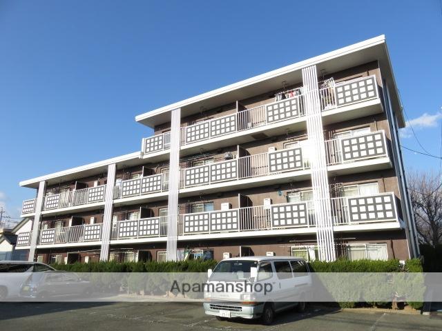 静岡県浜松市中区、浜松駅徒歩11分の築35年 3階建の賃貸マンション