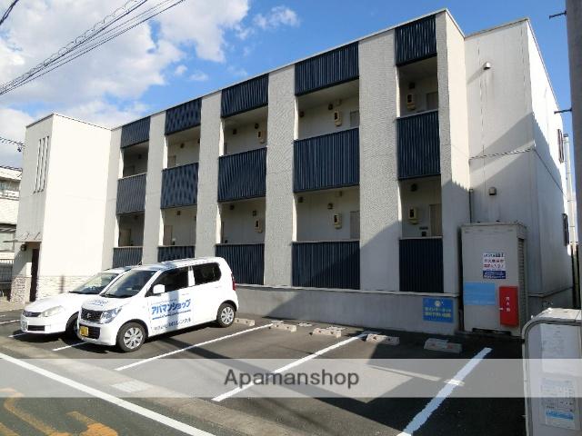 静岡県浜松市中区、浜松駅遠鉄バスバス20分早出上公園下車後徒歩6分の築8年 2階建の賃貸アパート