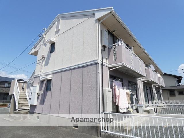 静岡県浜松市東区、豊田町駅徒歩12分の築28年 2階建の賃貸アパート