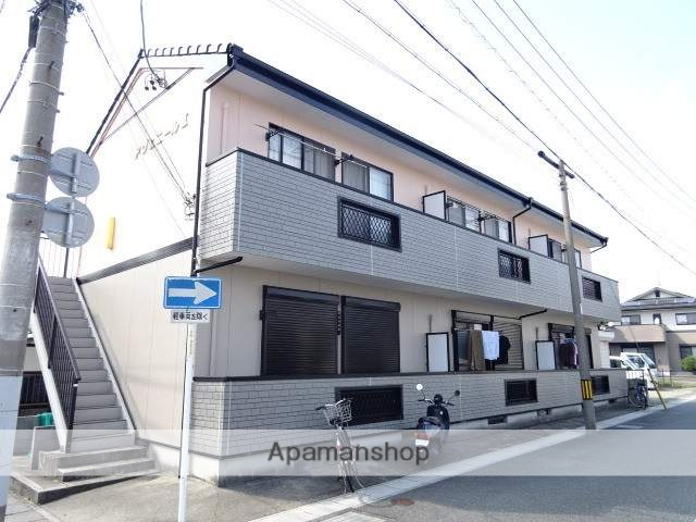 静岡県浜松市中区、浜松駅遠鉄バスバス22分浜商正門下車後徒歩3分の築16年 2階建の賃貸アパート
