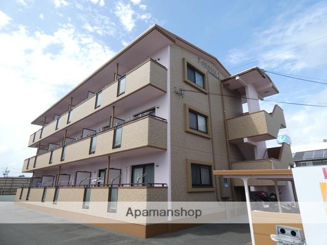 静岡県浜松市東区、天竜川駅徒歩22分の築9年 3階建の賃貸マンション
