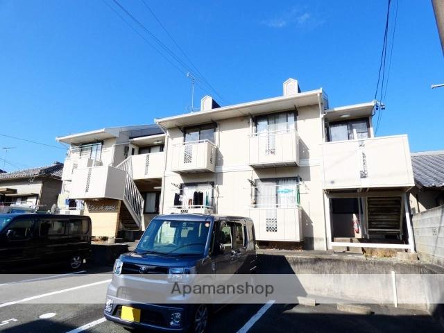 静岡県浜松市西区、浜松駅遠鉄バスバス20分南平下車後徒歩8分の築29年 2階建の賃貸アパート