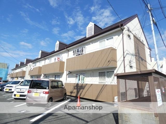静岡県浜松市東区、天竜川駅徒歩28分の築25年 2階建の賃貸アパート