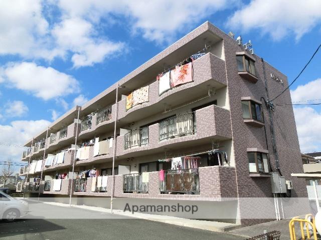 静岡県浜松市中区、浜松駅遠州鉄道バスバス16分上北下車後徒歩3分の築20年 3階建の賃貸マンション