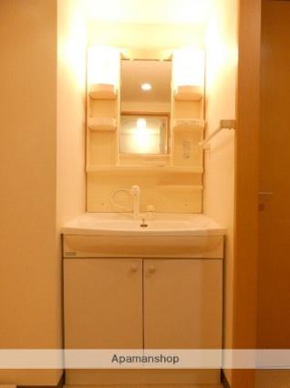 静岡県浜松市浜北区中条[1K/30.16m2]の洗面所