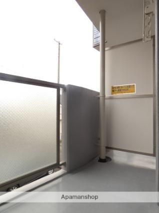 静岡県浜松市浜北区中条[1K/30.16m2]のバルコニー