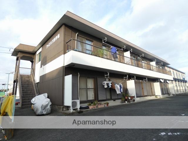 静岡県浜松市中区、浜松駅遠鉄バスバス10分西郵便局下車後徒歩10分の築30年 2階建の賃貸アパート