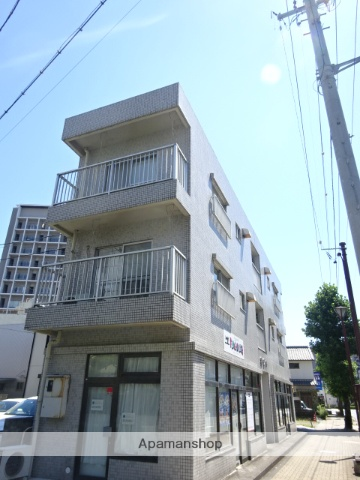 静岡県浜松市中区、第一通り駅徒歩11分の築31年 3階建の賃貸マンション