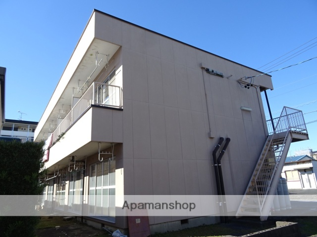 静岡県浜松市東区、天竜川駅徒歩30分の築35年 2階建の賃貸アパート